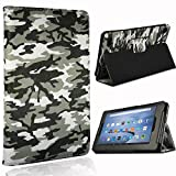 FINDING CASE Folio Leather Smart Folding Stand Cover Case