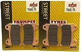 Ducati 748 S 99 00 01 02/748 R 2000 00 SBS Performance Anteriore Veloce Strada Sinterizzate Pastiglie Freno Sinterizzate Set Qualità Originale OE 706HS