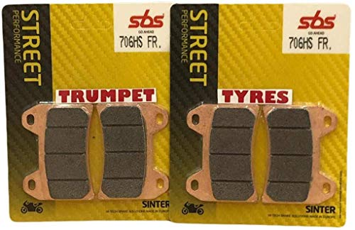 Ducati Monster 796 / Monster 796 ABS 11 12 13 14 SBS Performance avant Route Rapide Frittage Fritté...