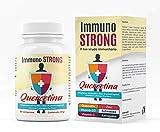 Immunostrong - Quercetina, Vitamina D, Vitamina C, Zinco, Echinacea, Multivitaminico, Immunostimolante - AMBIOPH