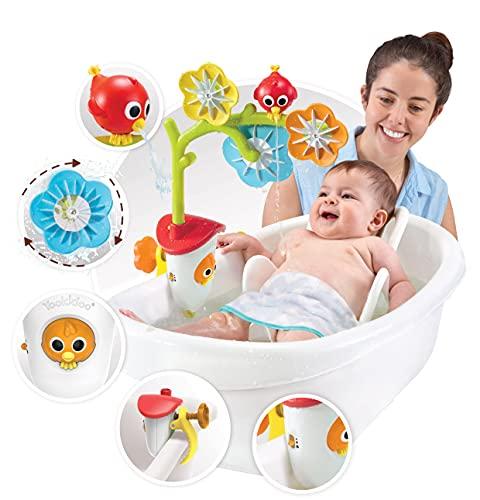 YOOKIDOO - Mobile de Bain Sensoriel Oiseau - Jouet Bain bébé - Eveil des sens - Cadeau bébé de 0 à 2 ans