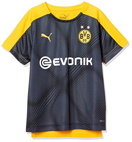 PUMA Kinder Trikot BVB League Stadium mit Evonik, Puma Black, 164, 756229