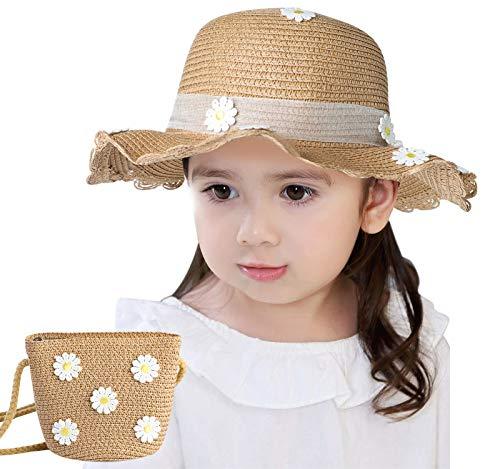 Danfiki Sombreros de paja Niñas...