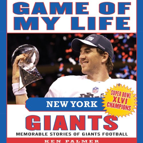 Game of My Life New York Giants cover art