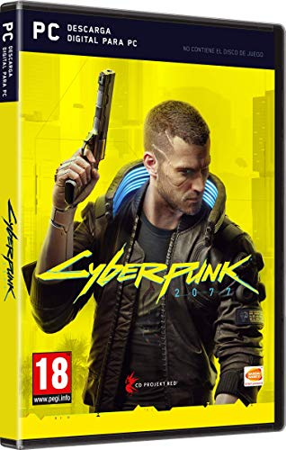 Cyberpunk 2077 - Edición Day One (Code in a Box)