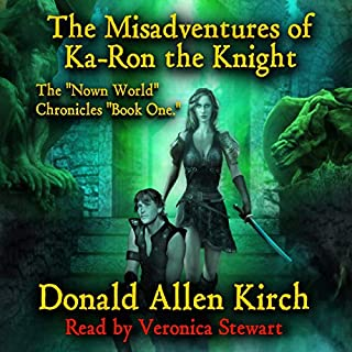 The Misadventures of Ka-Ron the Knight audiobook cover art