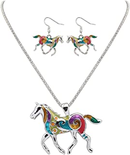 horse jewelry earrings