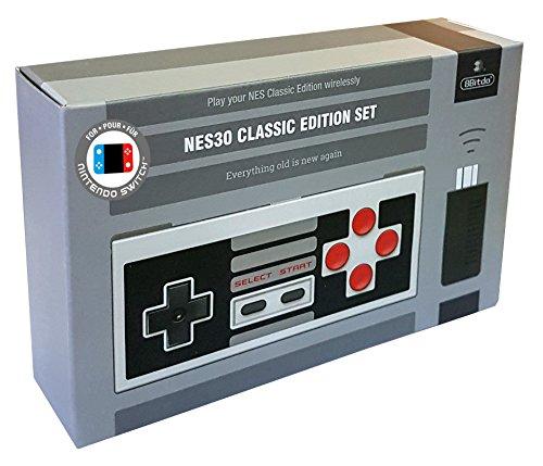 Pack Manette 8Bitdo NES30 + adaptateur NES mini Retro