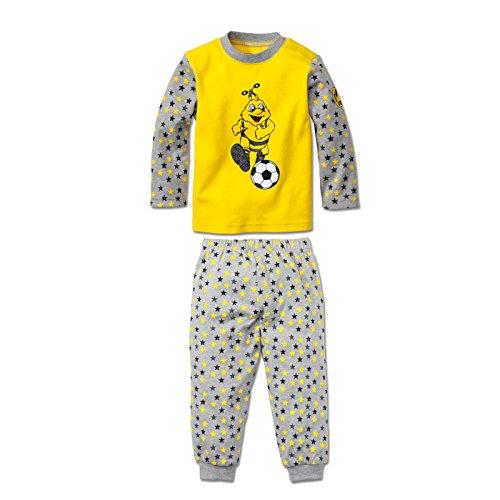 Borussia Dortmund BVB-Schlafanzug für Kleinkinder 80/86