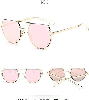JHLD Half Frame Sunglasses Women Unisex Sunglasses Summer Beach Driving Cycling UV Protection