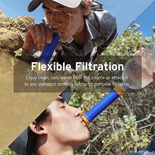 Etekcity Mini Water Purifier Filter Straw