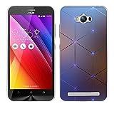 FUBAODA Coque pour ASUS ZenFone Max ZC550KL, [Diamant électromagnétique] Etui Silicone Gel pour...