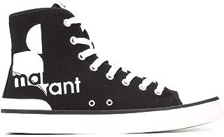 Isabel Marant Luxury Fashion Womens BK006420P043S01BK Black Hi Top Sneakers |