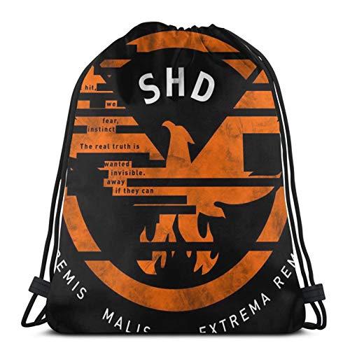Drawstring Bags Th-E Div-Isi-On S-H-D Unisex Drawstring Backpack Sports Bag Rope Bag Big Bag Drawstring Tote Bag Gym Backpack In Bulk