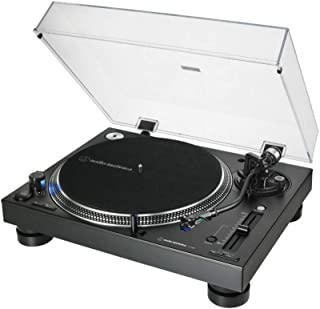 Audio-Technica - AT-LP140XP Professional Direct Drive Manual Turntable - Black