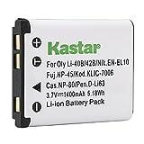 Kastar Battery (1-Pack) for Olympus LI-40B...