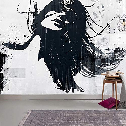 Photo Mural 3D Wallpaper European Style Modern Abstract Hand Painted Ink Beauty Art Wall Painting Living Room Wall Paper