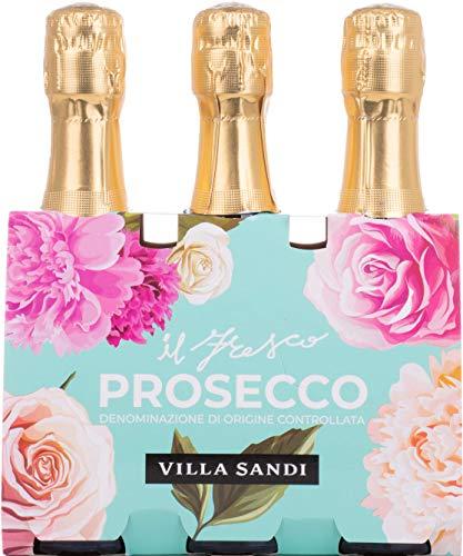 Villa Sandi Il Fresco DOC Treviso Brut (TRIO) Prosecco (1 x 600 ml)