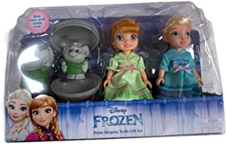 Frozen Petite Toddler Princess & Surprise Trolls Doll Play Set