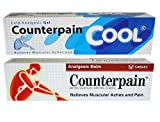 Counterpain Analgesic Balm Cream 120g. (Pack of 2 color)