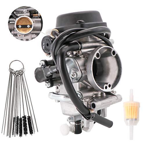 KIPA Carburetor for Suzuki DRZ400 DRZ 400 DRZ400SM DRZ400S 2005-2018 Replace # 13200-29FB4 With Filter & Carbon Dirt Jet Cleaner Tool Kit Durable