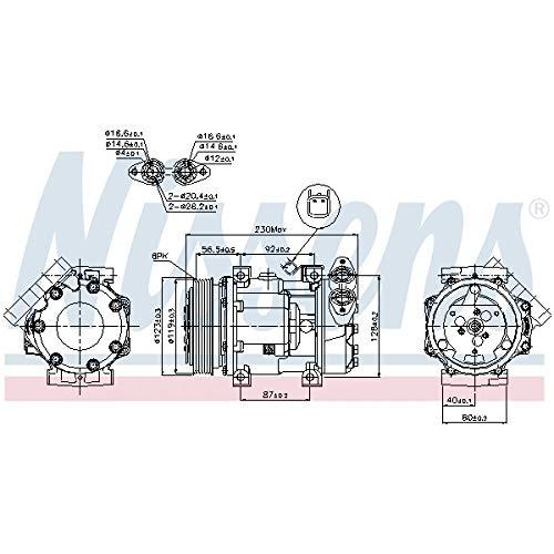 Nissens 89336 Clima compressori