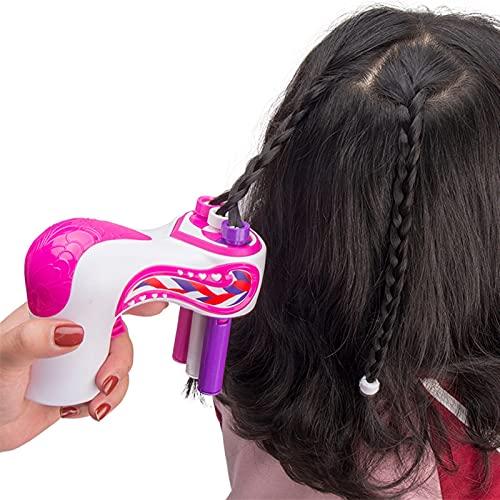 NWYJR Kit de Trenzado de Cabello, Trenzas Preciosas fáciles, Trenzadora automática de Cabello, niñas
