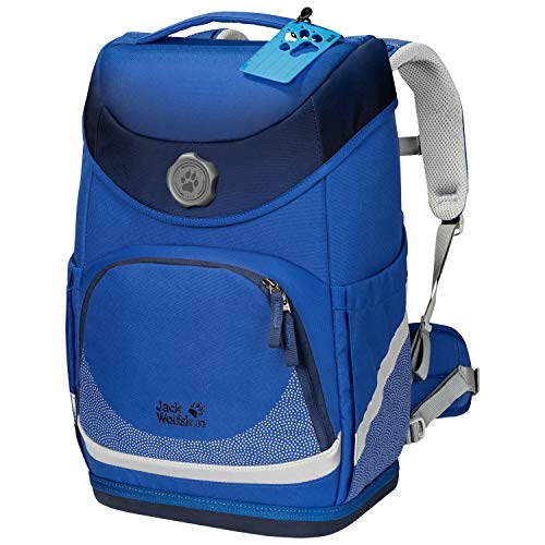 Jack Wolfskin Kinder Grow Up School Rucksack, Coastal Blue, ONE Size