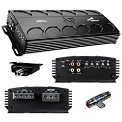 This Audiopipe APMN-1500 is a 1500 Watt Amplifier Built on a Mini Chassis to Provide Serious Power in a Tight Space This Amp is a Mono Block 1 Channel Amplifier that is Stable at 1 Ohm and Comes with an Inline Fuse and Bass Knob. Frequency Response: ...