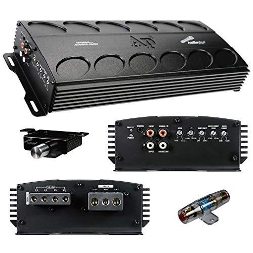 Audiopipe APMN-1500 1500 Watt Class D Amplifier Car Audio Bass Knob Fuse