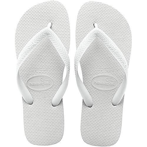 Havaianas Top, Infradito Unisex-Adulto, Bianco (White 0001), 33/34 EU