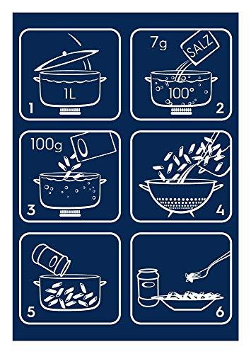 Barilla Vollkorn Pasta Penne Rigate Integrale – 6er Pack (6 x 500g) - 4
