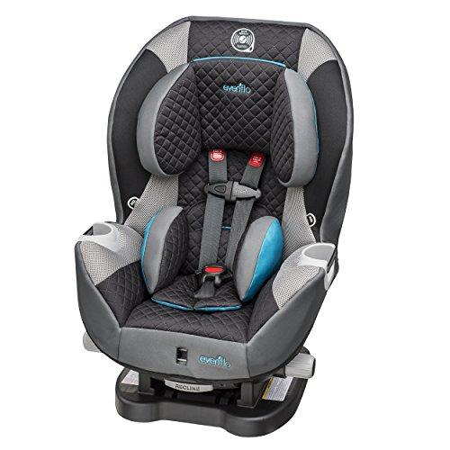 Evenflo Triumph LX Harness Convertible Car Seat, Blue