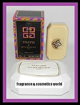 YSATIS DE GIVENCHY PERFUMED SAVON / SOAP FOR WOMEN 3.5 OZ / 100 g WITH DISH NEW IN BOX