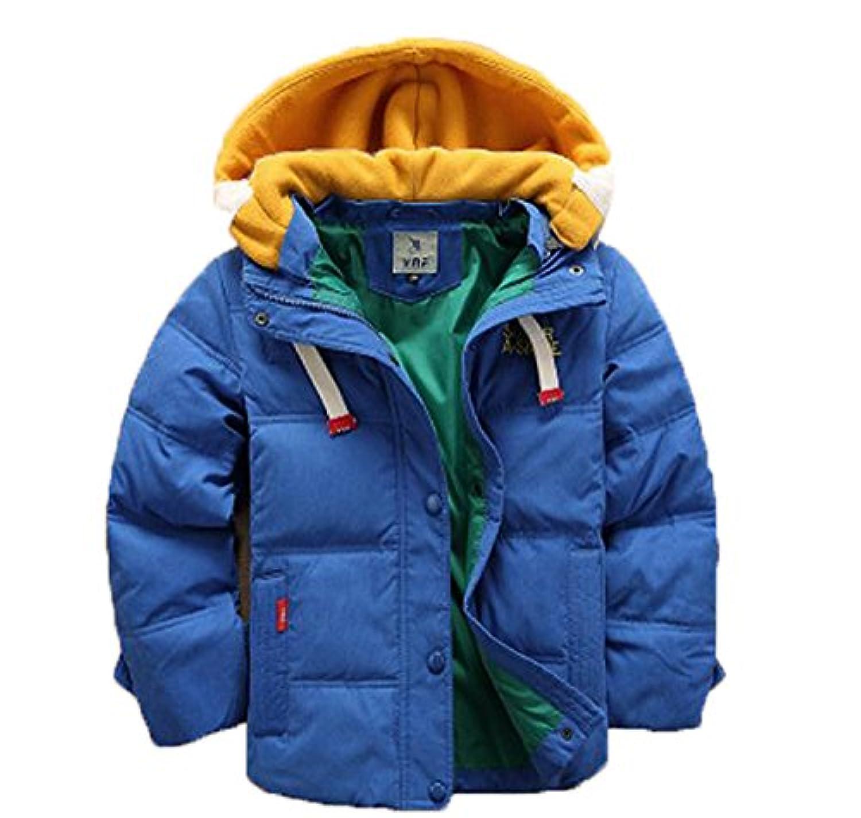 バイシン(BAISHUN)子ども ダウンコート 男女兼用 ダウンジャケット カジュアル 保温 防寒 ダウンジャケット 冬