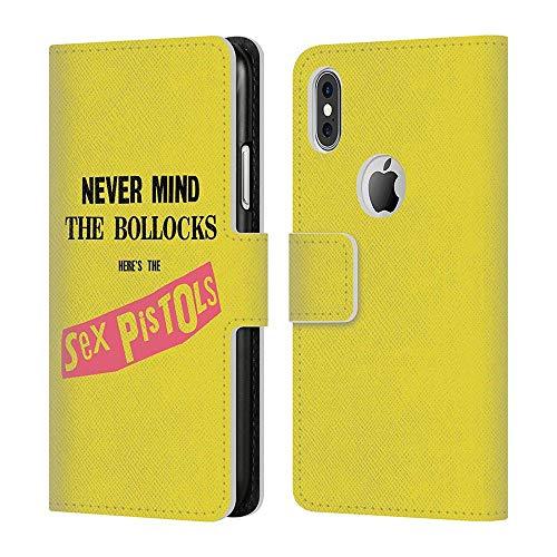 SEX PISTOLS セックスピストルズ (デビュー45周年記念) - NMTB Album レザー手帳型/iPhoneケース 【公式/オフィシャル】