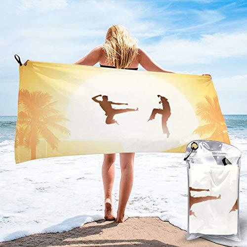 Amanda TV serie merch raglán robby co-bra K-ai Strike First The Karate Kid toalla de playa Ropa de baño Senderismo champing interior al aire libre merch para hombres y mujeres niños