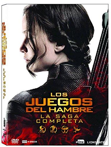 Pack Los Juegos Del Hambre - Saga Completa (2016) [DVD]