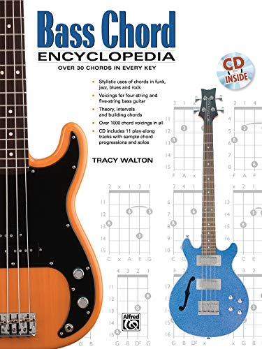 Bass Chord Encyclopedia: Over 30 Chords in every Key (incl. CD): Book & CD (National Guitar Workshop)