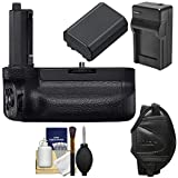 Sony VG-C4EM Vertical Battery Grip with Battery & Charger + Wrist Strap + Kit for Alpha A7R IV & A9 II Cameras