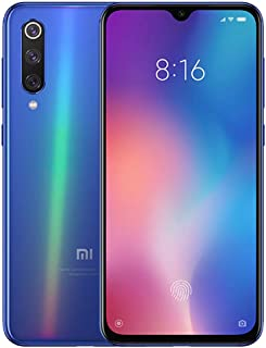 "Celular Smartphone Xiaomi Mi 9 128GB/6GB 48MP+12.0 Snapdragon 855 NFC Wireless Fast Charge Tela 6,39"" Cor Ocean Blue/Azul"