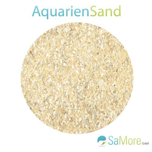 www.quarzsand24.de 25 KG SaMore AQUARIUMSAND AQUARIENSAND BODENGRUND 0,4-0,8 mm Ocker AQUARIENKIES HOCHREIN TOP1 INNERHALB VON Deutschland (außer Inseln)