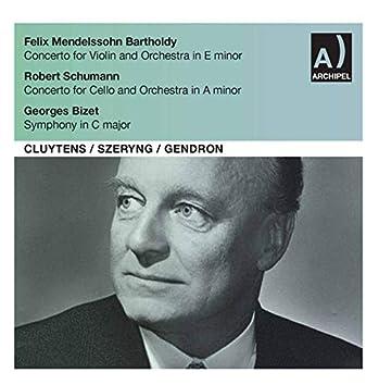 Mendelssohn, Schumann & Bizet: Orchestral Works (Live)
