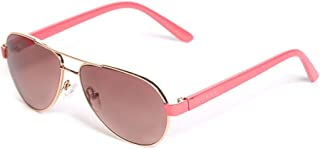 GUESS Factory Kids Girl's Glitter Aviator Sunglasses