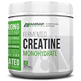 AMRAP Nutrition Micronized Creatine Powder, 200g, High Quality, WADA Compliant, Athlete Approved (40 Servings)