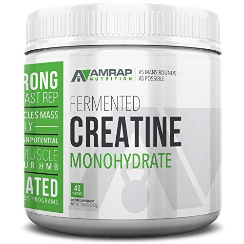 AMRAP Nutrition Micronized Creatine Powder, 200g, High Quality, WADA...