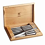 ZWILLING J.A. Henckels 39130-850 Zwilling Accessories Steak Knife Set, 2.3, Stainless Steel