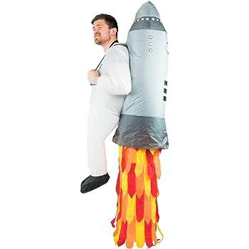 Bodysocks® Disfraz Hinchable de Jetpack Adulto: Amazon.es ...
