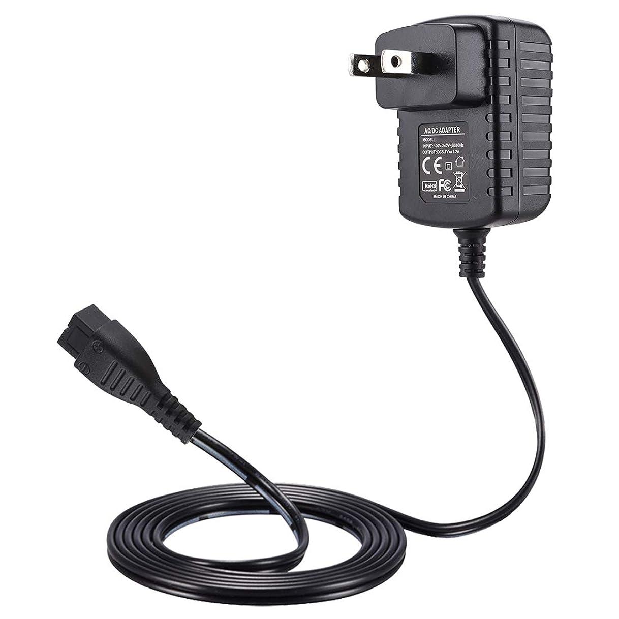 マディソンラインナップ下るPunasi パナソニック シェーバー対応 5.4V 1.2A Panasonic対応 ACアダプター DCアダプター 5.4V電源アダプター交換用充電器 ES7000 ES8000 シリーズ ES8232 ES8237 ES8238 ES8251 ES8258シェーバーなど