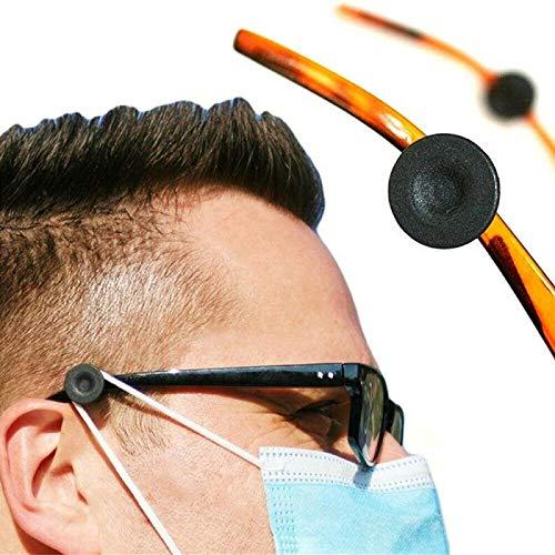 wgkgh (3 Pares) Regulador de mascarilla elástica para Gafas, Extensores de Ganchos para Orejas Liberate, Protectores, Clip de Ajuste, Evita Que te duelan Las Orejas